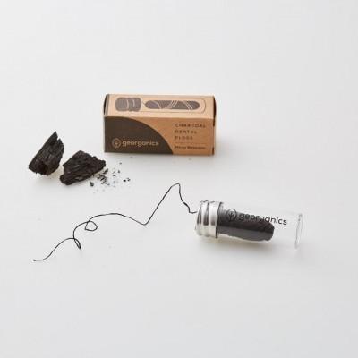 Recarga Fio Dentário Natural – Carvão e Menta