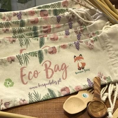Ecobag Saco de Utensílios - Bosque Feliz