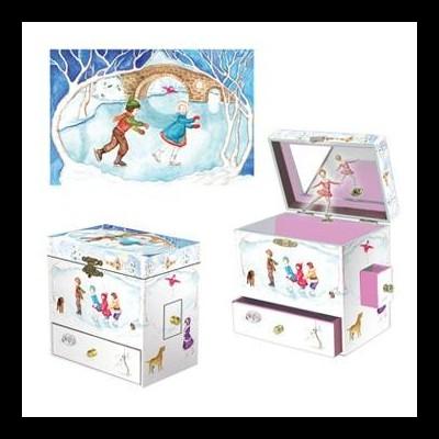 Caixa de Música Patinagem no Gelo | Enchantmints