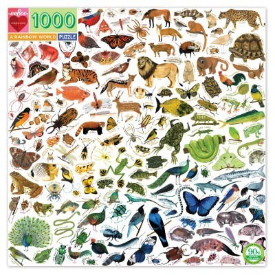 Arco-Íris na Natureza   1000 Peças