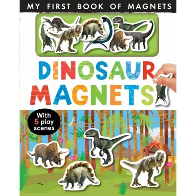 Dinosaur Magnets - My First Book of Magnets