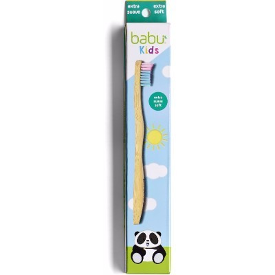 Escova de Dentes Criança de Bambú Extra Suave - Babu