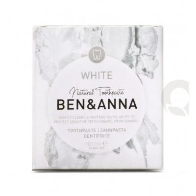 Dentífrico Natural White - Ben & Anna
