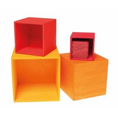 Caixas de Madeira Quente - Grimm's