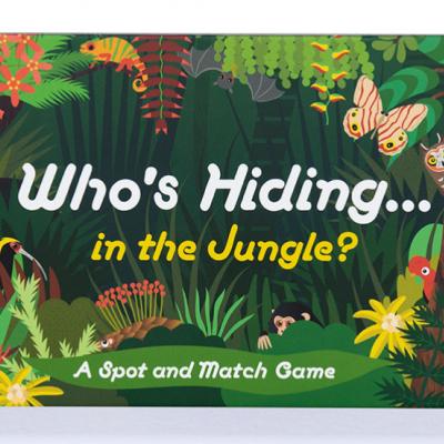 Who's Hiding in The Jungle?   Quem se esconde na Selva?