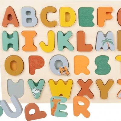 Puzzle Abecedário Safari