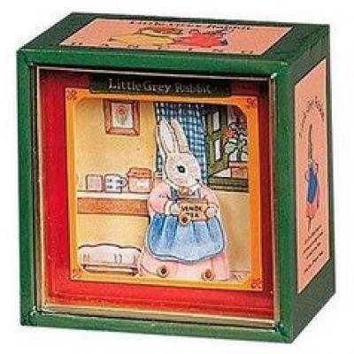 Mini Caixa Musical - Coelha   Pedrito o Coelho