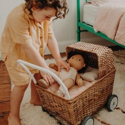 Conjunto de Cama Rosa Dinkum Doll | Olli Ella