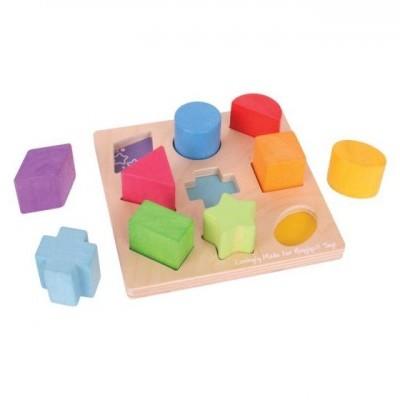 Puzzle de Formas e Cores - BigJigs
