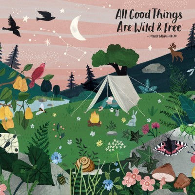 Puzzle de Peças 1000 All Good Things Are Wild and Free