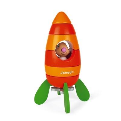 Cenoura Espacial   Foguetão Magnético