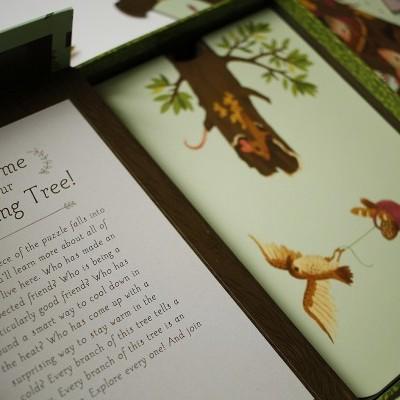 A Árvore Magnificente Puzzle de Peças
