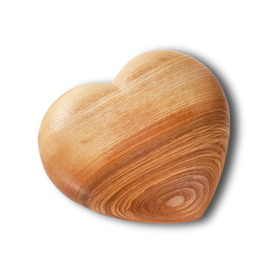 Corações de Madeira | Vários Formatos