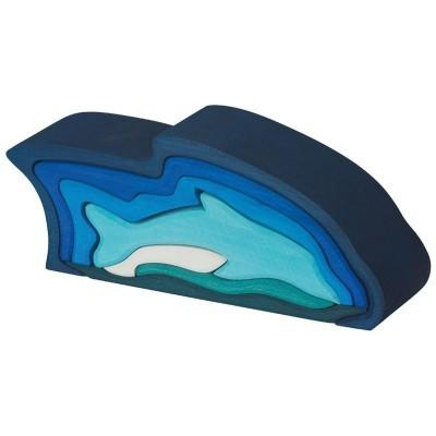 Golfinho encaixável - Gluckskafer