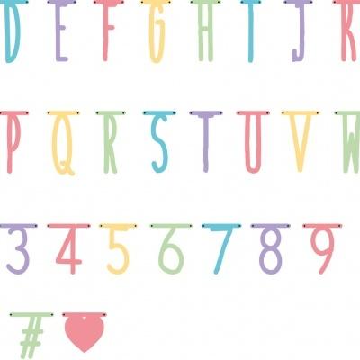 Decoração de Letras e Números