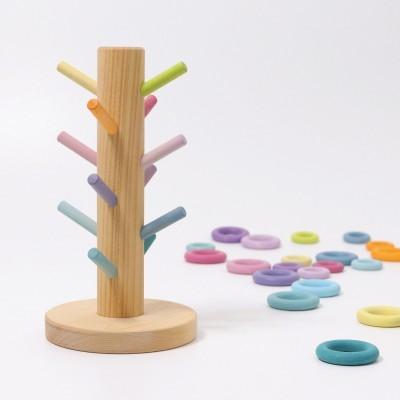 Torre de Anéis Pastel
