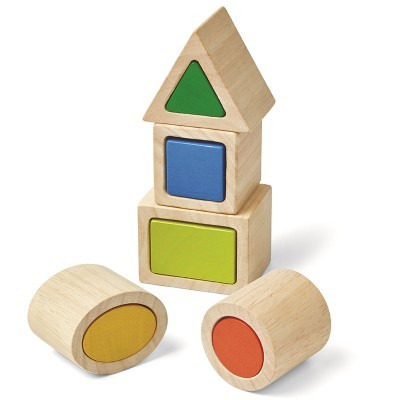 Blocos Geométricos - Plan Toys