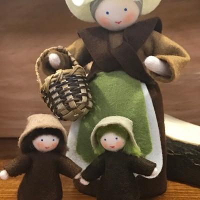 Mãe Natureza e Bebé Semente - Ambrosius