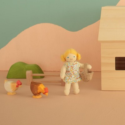 Poppy A Agricultora   Habitante do Mundo Holdie