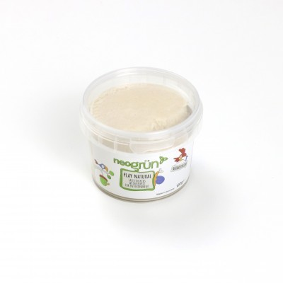 BRANCO Plasticina Infantil Natural e Vegan - Neogrun