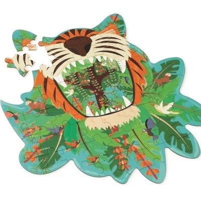 Puzzle do Tigre   59 peças