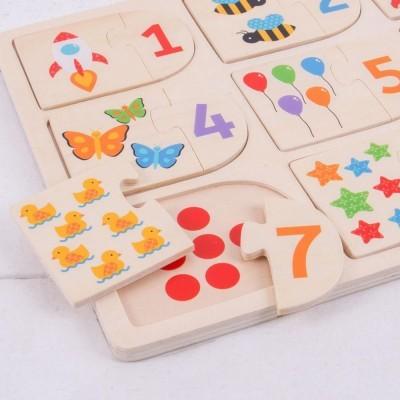 Puzzle Números 1 a 9 - BigJigs