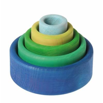 Conjunto de Potes Azul  - Grimm's