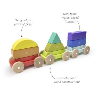 Comboio de Formas Arco-Íris - Tegu