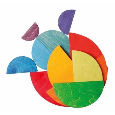 Semi-círculos Arco-Íris