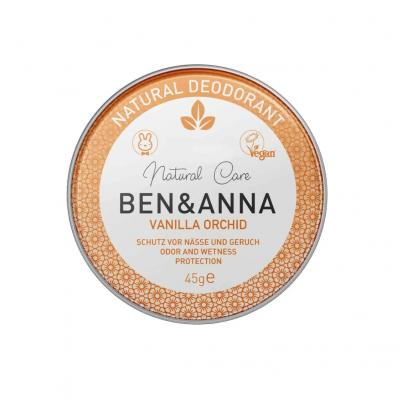Desodorizante Natural em Lata - Baunilha   Ben & Anna