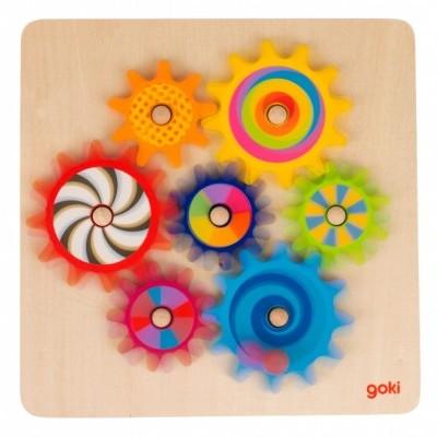 Puzzle Rodas de Relógio   Goki