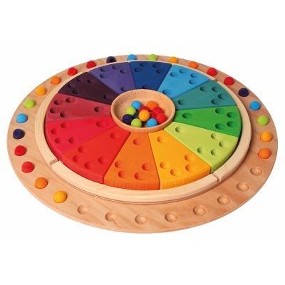 Disco Circular para Calendário Anual