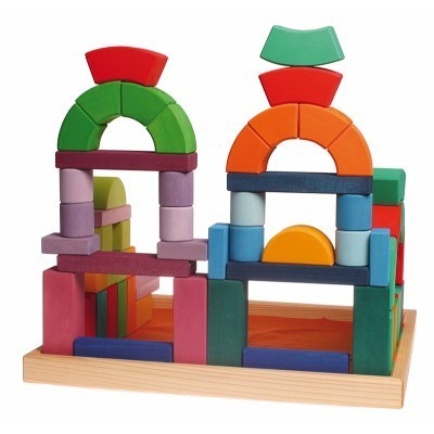 Puzzle Construção Romanesco Grande