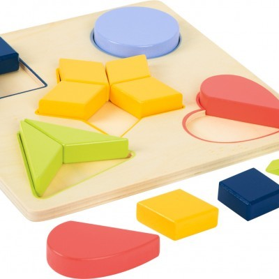 Puzzle de Formas e Cores Avançado