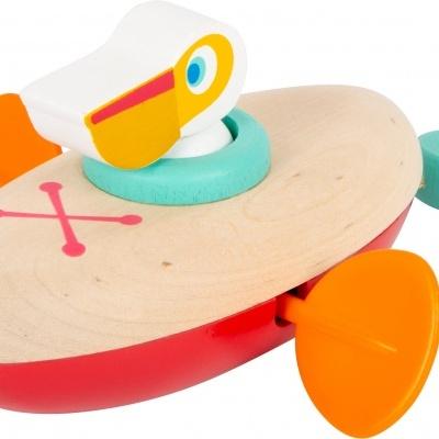 Pelicano Na Canoa de corda   Brinquedo de Água