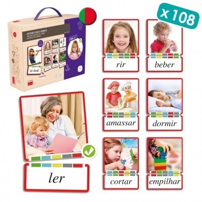 Self Learning Cards: Verbs English - Akros