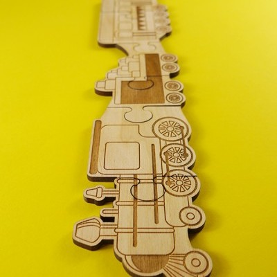 Comboio Puzzle de Peças