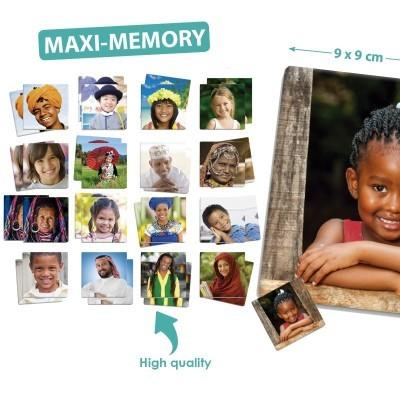 Jogo da Memória Maxi Culturas - Akros