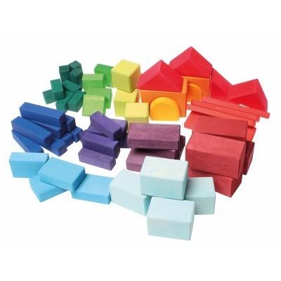 Blocos Geométricos Coloridos 60 - Grimm's