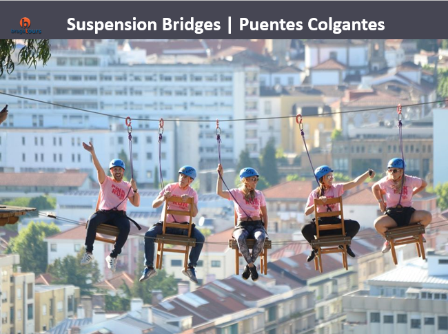 Suspension Bridges   Puentes Colgantes
