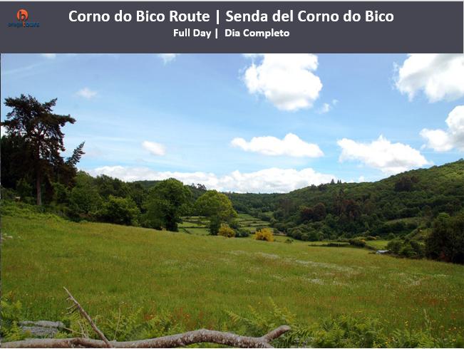 Corno do Bico Route   Senda del Corno do Bico