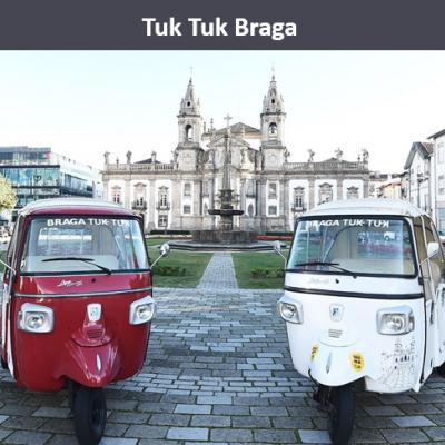 Tuk Tuk Braga Centro