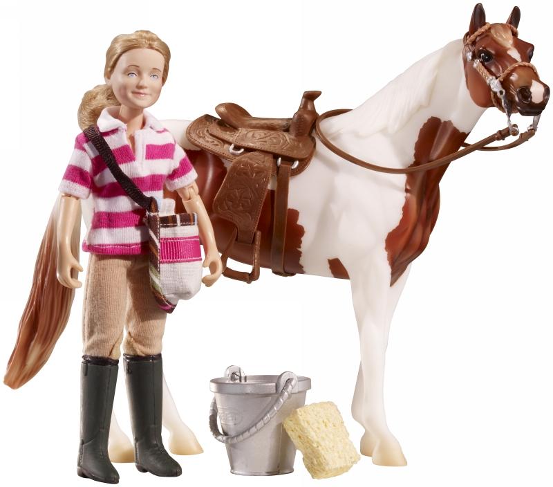 Breyer Eva Saddle Up - Classics