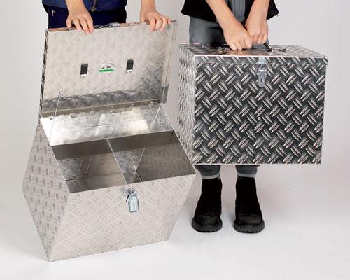 """Caixa de Limpeza Alumínio """"Alumax"""" LEHMANN"""