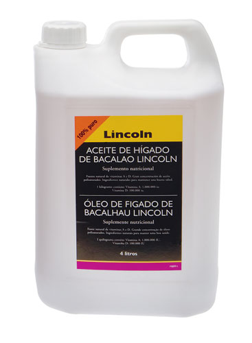 Óleo de Fígado de Bacalhau LINCOLN