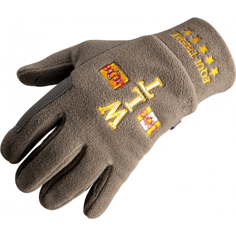 Equi-Theme Csi 5* WLT Polar Fleece Handschuhe Brown