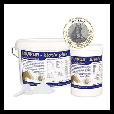 """Suplemento EQUIPUR """"Biotin Plus"""""""