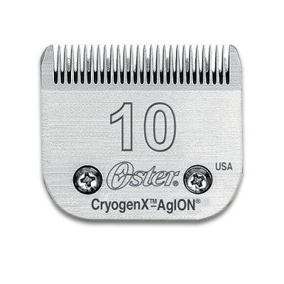 Conjunto OSTER Cryogen 919-04 Lâmina+pente 10 - Corte 1,50 MM p/ PRO3000i, A6 SLIM e A5-50