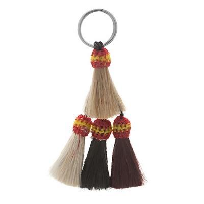 Porta-chaves HH Borlas de Crina Natural