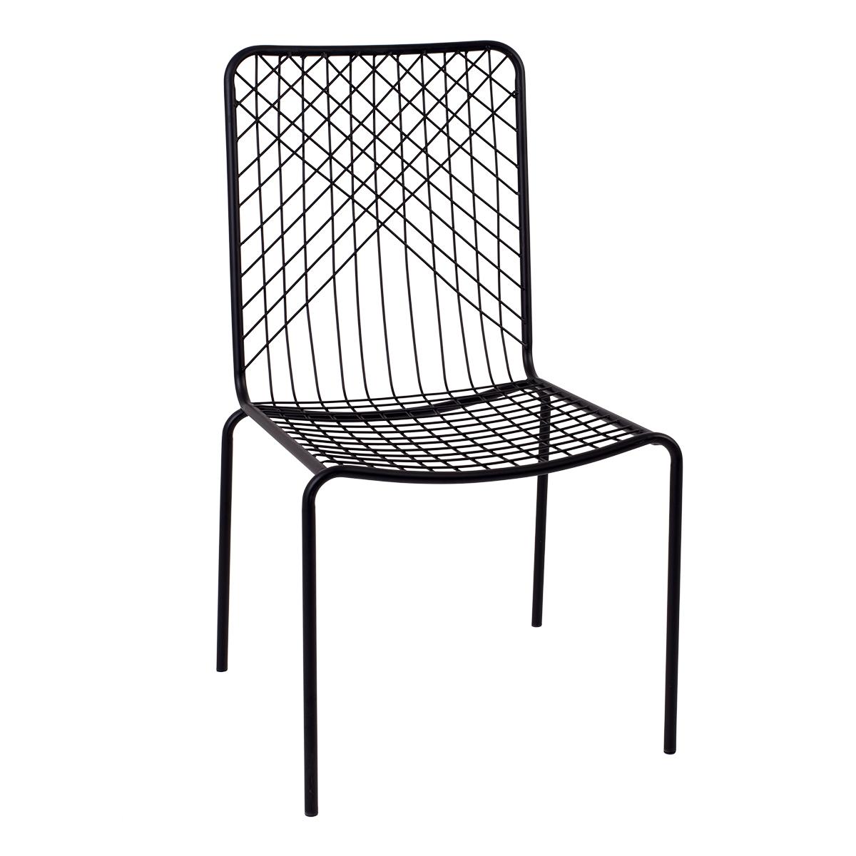 Cadeira Mikado Preto